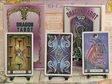 DRAGON TAROT SET