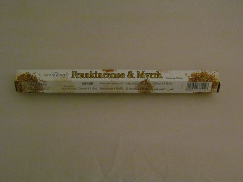 Frankincense & Myrrh incense