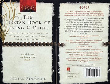 BOOK THE TIBETAN LIVING AND OF DYING