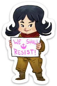 WE SHALL RESIST-Vinyl Sticker