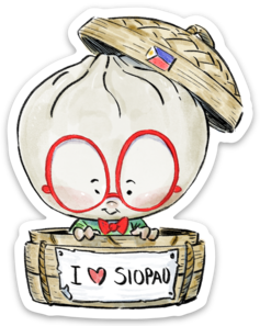 I LOVE SIOPAO-Vinyl Sticker