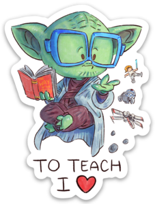 TO TEACH I LOVE