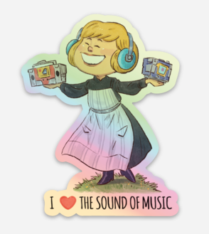 I HEART THE SOUND OF MUSIC