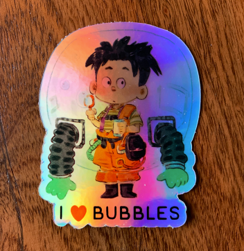 I HEART BUBBLES
