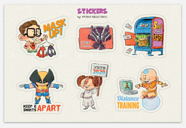 WHAT A YEAR-Sticker Set
