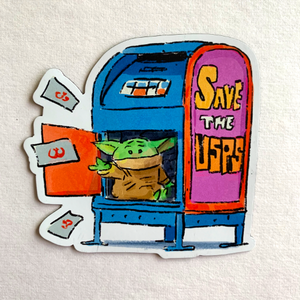 SAVE THE USPS-Magnet