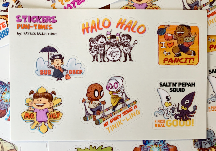 PUNTIMES-Sticker Set