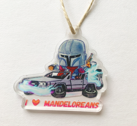 I LOVE MANDELAOREANS-Ornament