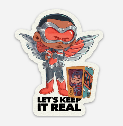 Keep It Real-Sticker