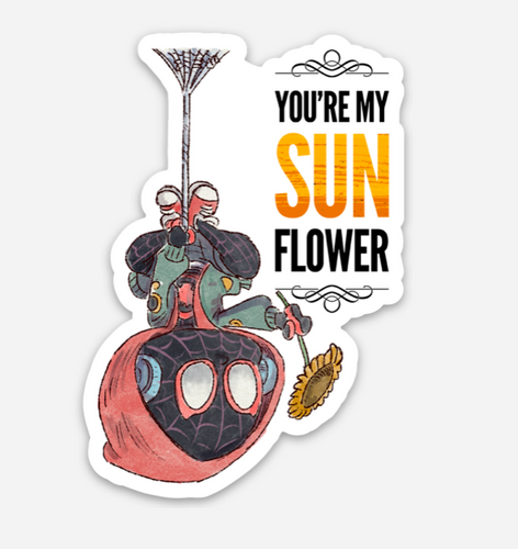 SUNFLOWER-Sticker