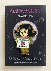 """EMPOWERED"" Enamel Pin"