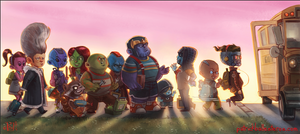 KINDERGUARDIANS OF THE GALAXY