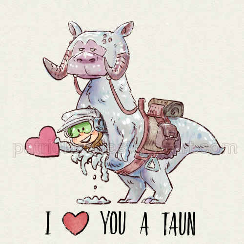 I LOVE YOU A TAUN