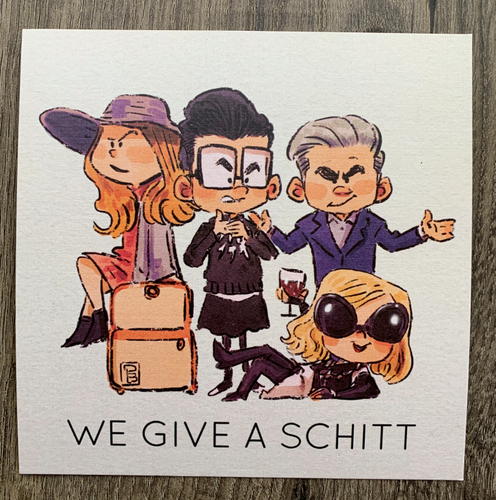 WE GIVE A SCHITT