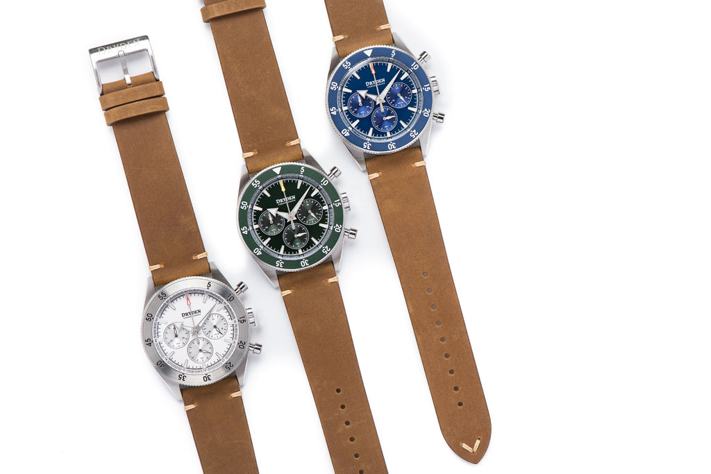 Dryden Chronograph Series v1.5 New Colors