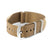 Premium Seat Belt Nylon Watch Strap - Khaki