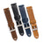 20mm Quick Release Simple Stitch Leather Watch Strap
