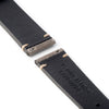 22mm [Artisan Series] Quick Release Simple Stitch Leather Watch Strap - Grey