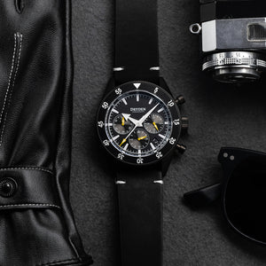 Dryden Chrono Diver Series 1 - V5 PVD Yellow
