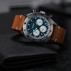 Dryden Chrono Diver Series 1 - V3 Steel Blue