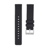 Quick Release Canvas Watch Strap - 20mm 22mm Black