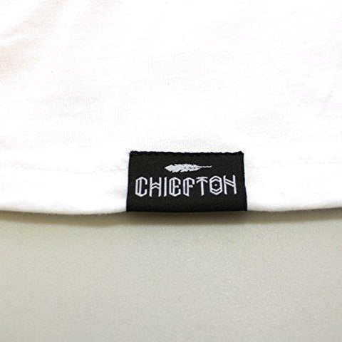 CHIEFTON Tropical C T-Shirt, Off-White, Large