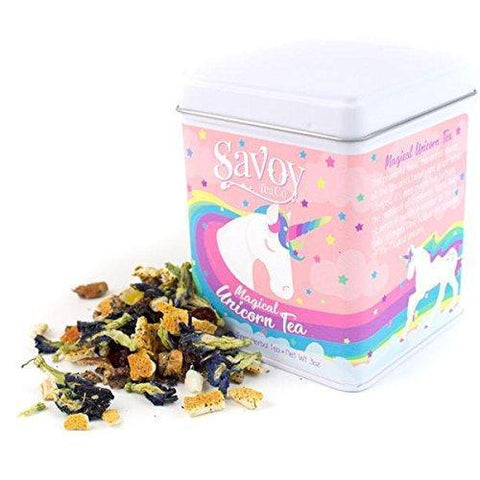 Savoy Tea Co.-Magical Unicorn Tea-Herbal Loose Leaf Tea (3oz Tin)
