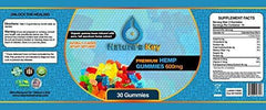 Premium Hemp Gummies 600mg- 30 ct.- 20mg Per Gummy- Full Spectrum Organic Hemp Extract Infused - Relaxing, Pain Relief, Stress & Anxiety Relief - Sleep Better- by Nature's Key