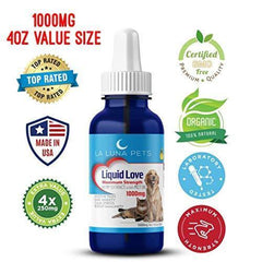 1000mg 4oz Hemp Oil for Pets- Organic Hemp Extract for Dogs & Cats - Made in The USA- Pain Relief-Anxiety & Stress Relief- Soothes Arthritis & Joints-Full Spectrum Hemp Extract-Daily Immune Support