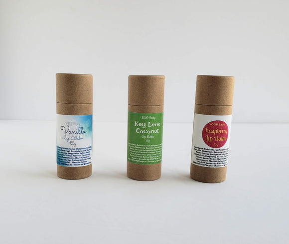Zero Waste Lip Care Trio - SOOP