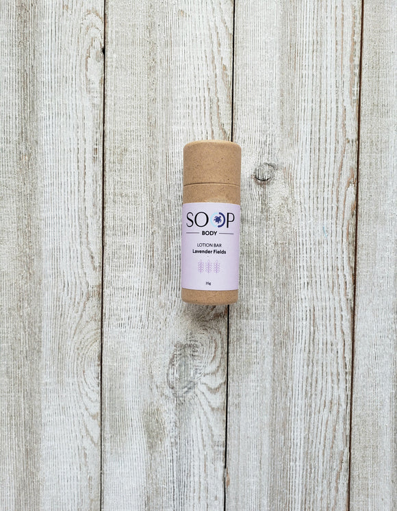 Lavender Fields Lotion Bar - SOOP