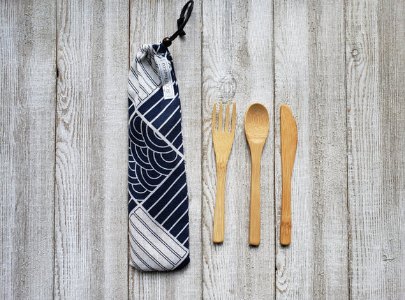 Biodegradable Bamboo Cutlery Set