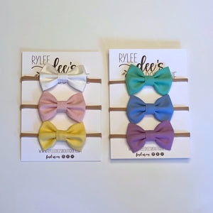 1st Rainbow Bow Bundle