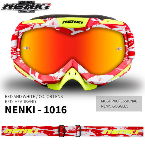 69a6f24f951 NENKI Motocross Glasses Moto Men Women Motorcycle Glasses Helmet Off-Road  Motocross Goggles Dirt Bike