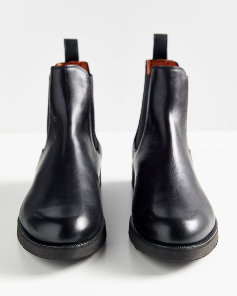 All Day Chelsea Boot | Black Leather