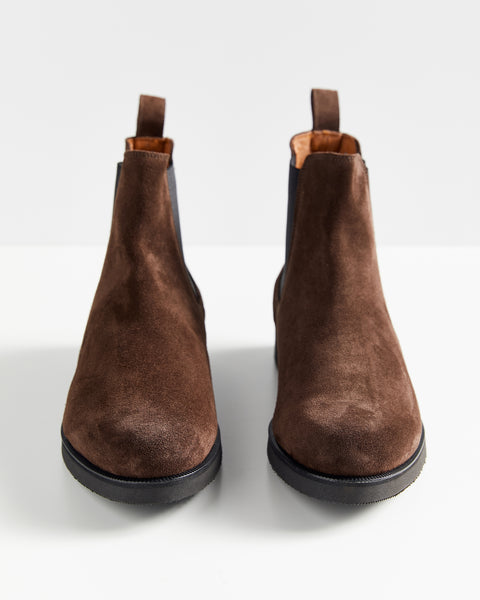 All Day Chelsea Boot | Umber Suede