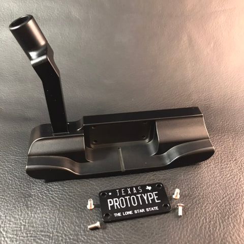 "FUSSELL ""LICENSE TO STEEL"" MILLED PUTTER"