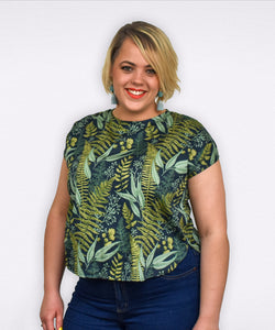 Anna Blouse | Fern Gully - Souten Clothing Co