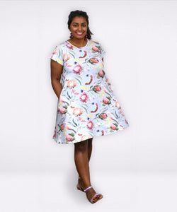 Frankie Dress | Botanica Australis - Souten Clothing Co