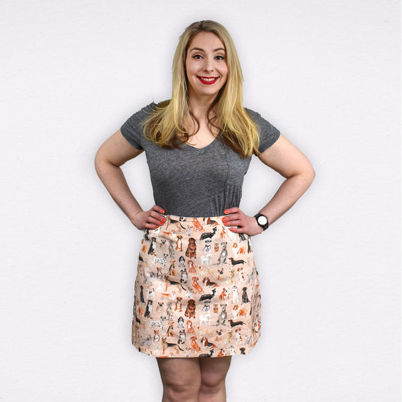 Meg Skirt | Crazy Dog Lady - Souten Clothing Co