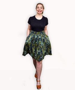 Tami Skirt | Fern Gully - Souten Clothing Co
