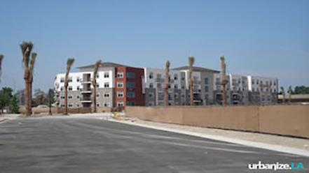 First Component of El Monte TOD Nears Completion