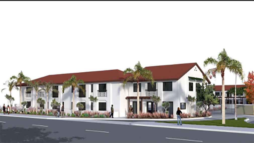 Rendering of Jamboree's new innovative affordable housing development in Anaheim, CA