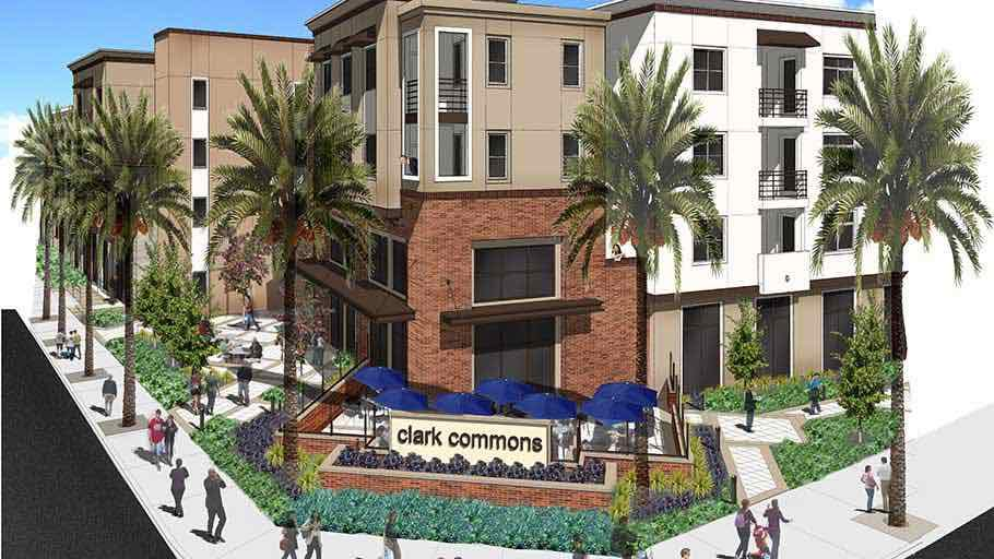 Jamboree's newest award-winning property, Clark Commons in Buena Park.