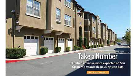 San Clemente Affordable Housing Not Easy to Come By