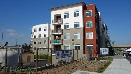 Jamboree Housing Corporation Completes Construction of The Exchange At Gateway in El Monte, Ca