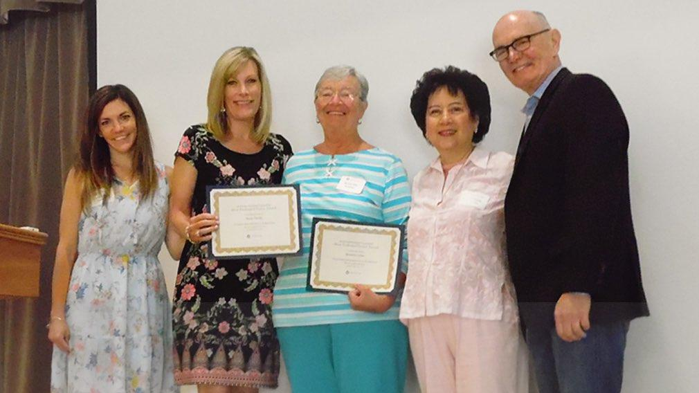 Jamboree honors the Most Dedicated Seniors as part of the first Volunteer Appreciation Awards.