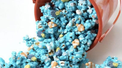 Jamboree's free onsite summer program makes learning fun kids create blue popcorn