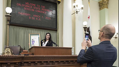Jamboree affordable housing resident named CA state assembly woman of the year