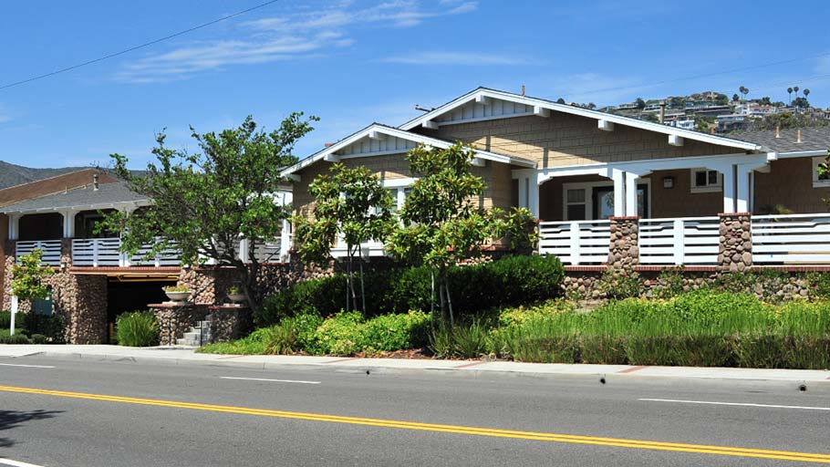 Jamboree's Alice Court single resident occupancy Laguna Beach street view
